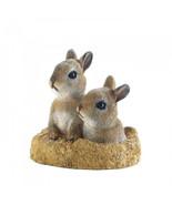 Peek-a-boo Garden Bunnies Decor - $32.00