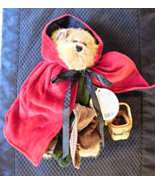 Head Bears Own Daughter Limited Edition Boyd's Bailey Bear Little Red Riding Hoo - $9.99