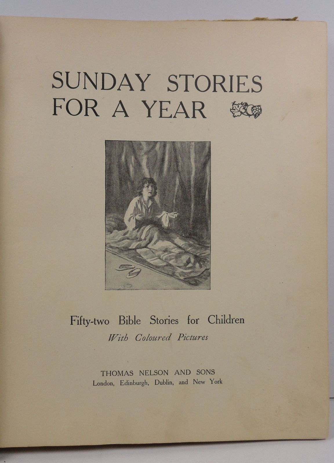 Sunday Stories For a Year Bible Stories for Children