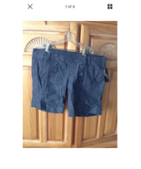 Women's Sailor type button shorts gray Shorts Size 7 By o'neill - $19.99