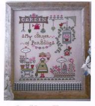 Il mio Angolo di Paradiso cross stitch chart Cu... - $10.80