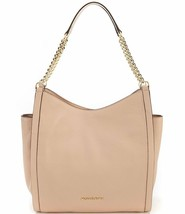 Michael Kors Newbury Medium Chain Shoulder Tote Oyster Pebbled Leather M... - $148.49