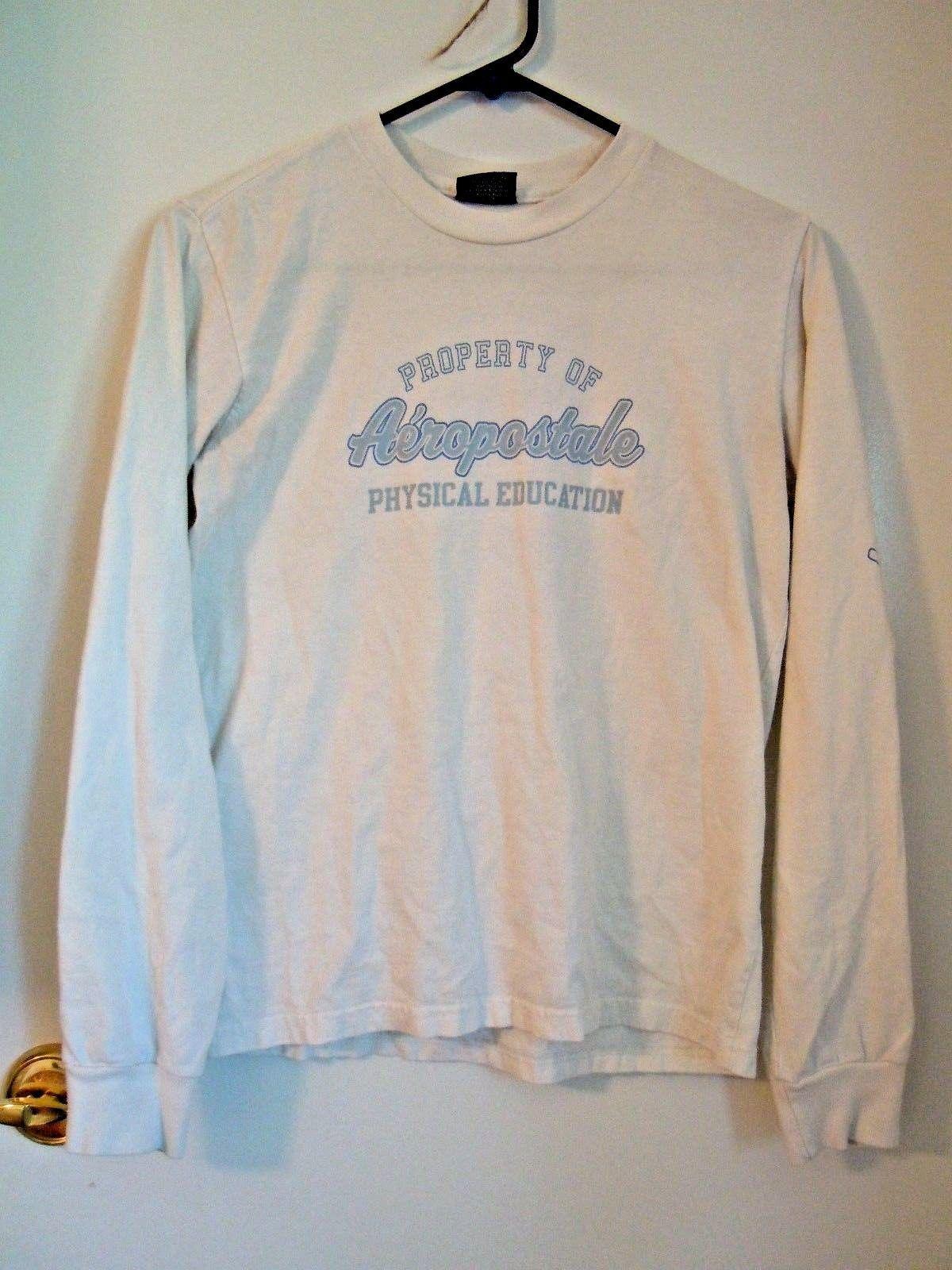 Aeropostale Womens Rhinestone Logo Embellished T-Shirt