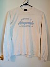 Aeropostale Women's Size S White Top (Aeropostale on sleeve) 100% Cotton... - $4.45