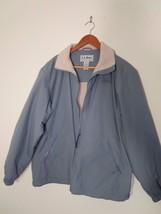 LL Bean Womens Size M Olive Color Lined 3-Season Jacket w/Full Zipper Ex... - $9.89