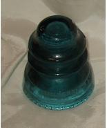 Aqua Hemingway-42 Glass Insulator U.S.A. - $9.99