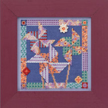 Pinwheels Spring Series 2014 beaded button kit Mill Hill - $11.70