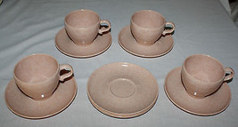 Branchell 4 Coffee Cups & 7 Saucers Melmac Vint... - $9.89