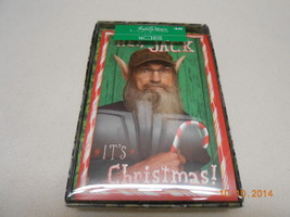 NEW BOX LOT 16 BIG HALLMARK DUCK DYNASTY CARDS & ENVELOPES IT'S CHRISTMA... - $5.45