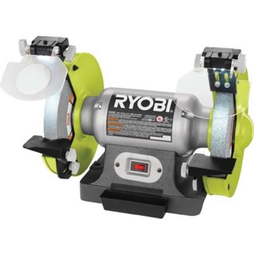 Peachy Ryobi 6 Bench Grinder 2 1 Amp 3 600 Rpm And 50 Similar Gmtry Best Dining Table And Chair Ideas Images Gmtryco