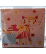 NEW Pink Orange Yellow Kitty CD gift box - gift... - $3.00