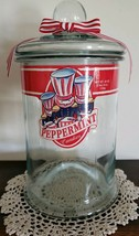 Vintage ~ Clear Glass ~ 40 Ounce ~ Drugstore Peppermint Candies ~ Apothe... - $100.00