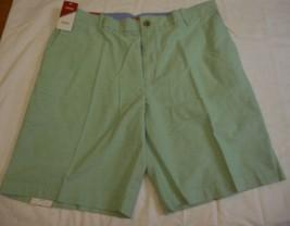 Men's IZOD Shorts Newport Oxford Absinthe Green Size 38W NEW - $34.64