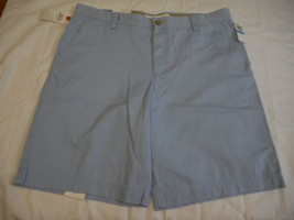 Men's IZOD Shorts Washed Chino Saltwater Chambray Blue Size 36W NEW  - $42.56