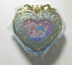 Little Twin Stars Accessory Case Mini Size Heart Blue Cute Rare SANRIO - $25.25