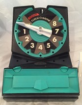 VINTAGE RARE 1967 TOPPER CLOCK-A-GAME QUIZ GAME W/ INSTRUCTIONS..3 GAMES - $9.49