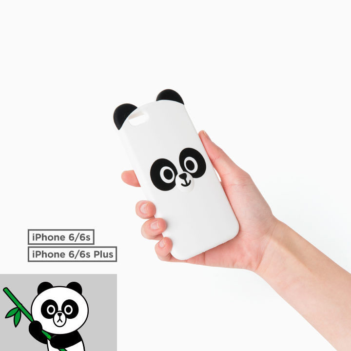 LINE Friends Face PANGYO iPhone Cell Silicone Case Phone Cover Mobile Skin Acc