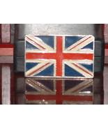 Pre-Owned Retro British Flag Belt Buckle - $8.91