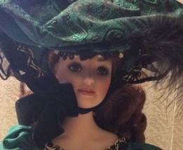"""20"""" Musical Franklin Mint Heirloom Doll Porcela... - $125.00"""