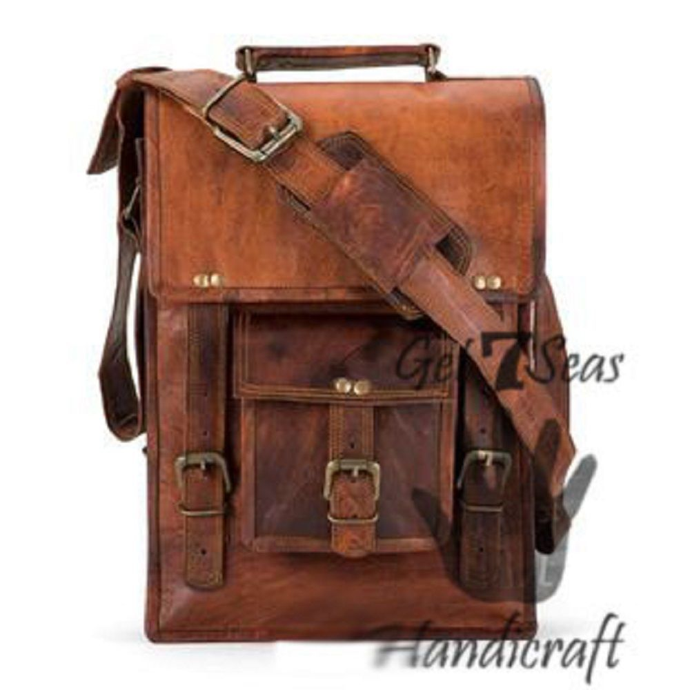 Messenger bag for women leather mens satchel shoulder laptop briefcase men bags