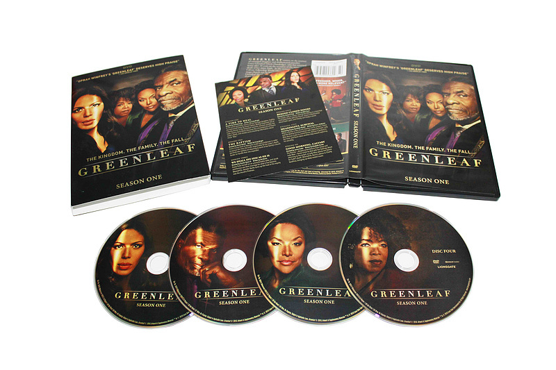 Greenleaf The Complete First Season 1 DVD Box Set 4 Disc Free Shipping