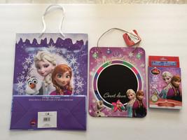 Disney FROZEN Elsa Anna Christmas Gift Bag, Activity + Count Down Chalkb... - $14.99