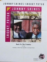 JOHNNY SHINES POSTER, BACK TO THE COUNTRY (J8) - $7.69