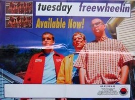 TUESDAY POSTER, FREEWHELIN'  (MISC10) - $7.69