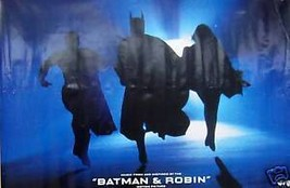 BATMAN & ROBIN POSTER, SOUNDTRACK PROMO (B17) - $11.29