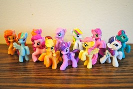 Lot of 10 My Little Pony Figure  Figures Toys Collectable Brony Friendsh... - $19.99