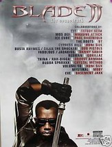 BLADE II POSTER, THE SOUNDTRACK PROMO (B14) - $7.69