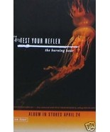 TEST YOUR REFLEX POSTER, THE BURNING HOUR (T2) - $7.69