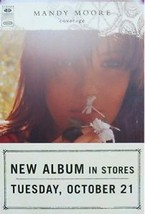 MANDY MOORE POSTER, COVERAGE (A17) - $8.59