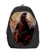 backpack godzilla godzila japan monster school bag - $39.79