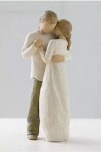 Willow Tree Promise figurine #26121 couple marriage dancing angel angels Demdaco - $30.39