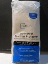 MAINSTAYS WATER PROOF MATTRESS PROTECTOR TWIN - $10.40