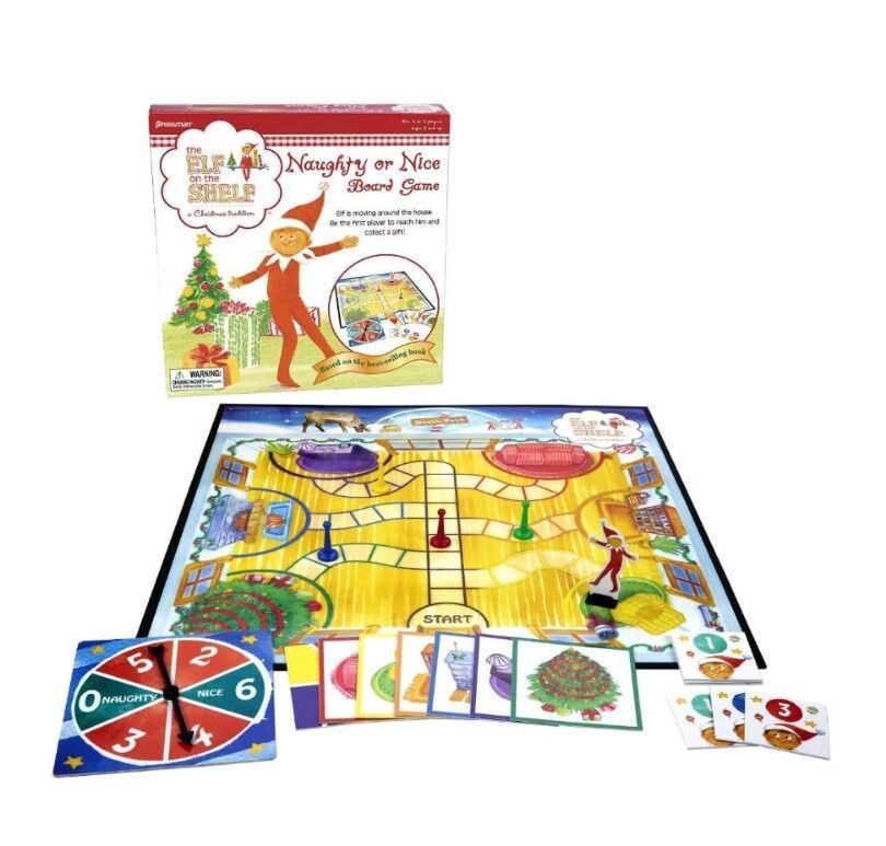 The Elf On The Shelf Naughty or Nice Board Game [New]
