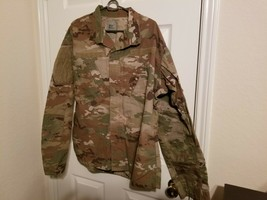 US Army Military Woodland Camo Medium Jacket MSN #8415-01-598-9987 - $28.70
