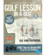 Bogey Pro Golf Academy Lesson In-A-Box XL Tee Shirt- How to Use Your Foo... - $12.95