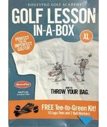 Bogey Pro Golf Academy Lesson In-A-Box XL Tee Shirt- How to Throw Your Bag - $12.95