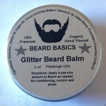 Glitter Beard Balm Glitter Beard Kit Beard Basics Beard Glitter Organic 2oz - $15.99