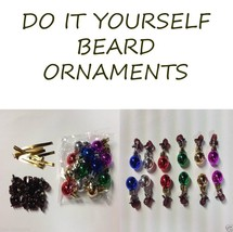 DIY Kit Beard Bauble Ornaments The Official Beard Clip Creator - $5.50