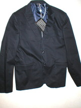 New NWT 54 Mens XL Sport Coat Jacket Blazer Navy Italy Vincent Trade 44 Blue - $599.00