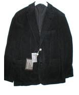 New NWT 52 Mens L Sport Coat Jacket Blazer 42 Black Velvet Hugo Boss Des... - $359.60