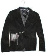 NWT Takeshy Kurosaw Blazer Jacket 10 Black New Italy Designer Womens Vel... - $495.00