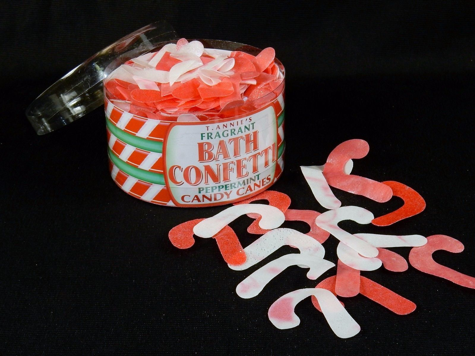 Holiday Bath Confetti ~ Candy Cane Shapes, and similar items