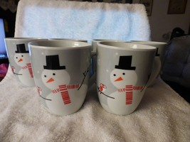 6 Cute 2012 Rachael Ray Xmas MUGS Little Hoot and Snowman Christmas Owl - $35.64