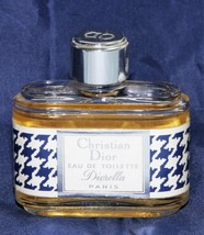 Vintage Authentic DIORELLA Christian Dior Eau De Toilette EDT  - $91.09