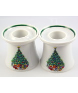 Noel Porcelle House of Salem Christmas tree can... - $20.00