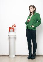 70s vintage vivid green blazer - $57.49
